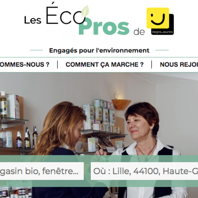 Pages Jaunes - Les Eco Pros