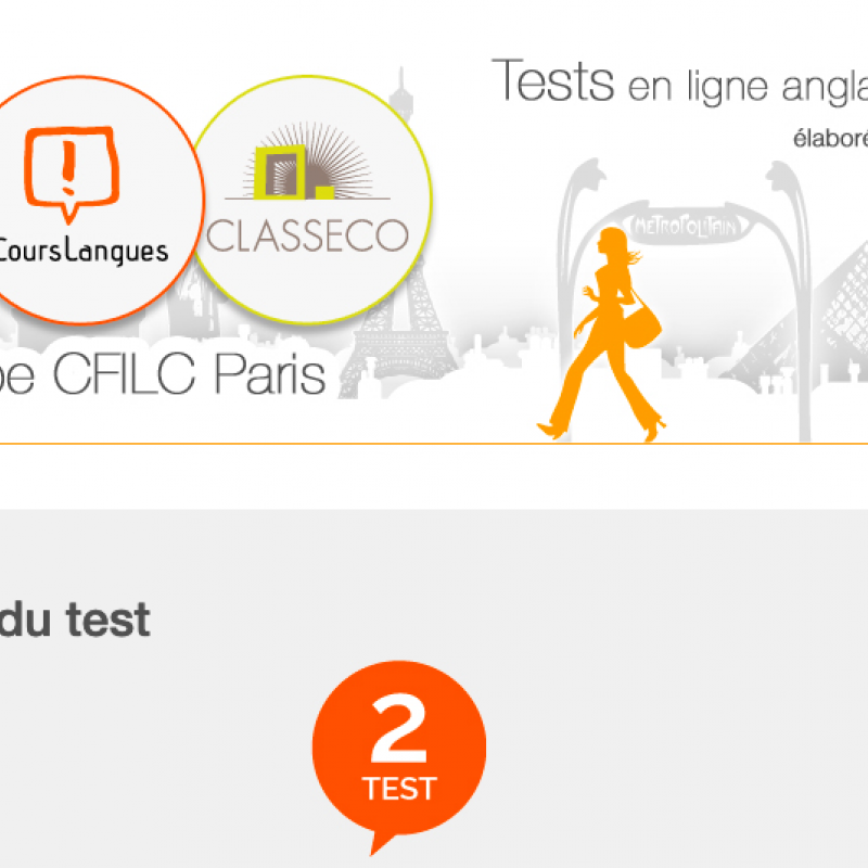Campus Langues - Tests en ligne
